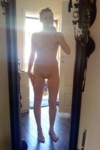 Nude Mirror Selfie