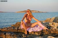 Nude Milf On A Beach