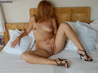 Nude Milf In High Heels