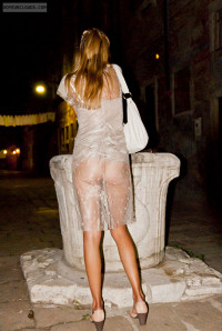 Wife In See-Through Clothes
