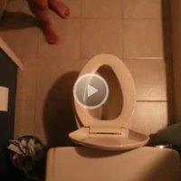 No_One_Ok's  Bathroom Voyeur  Video