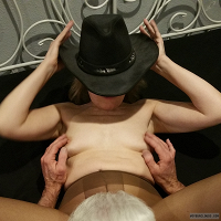 Pantyhose,Lifestyle,Fetish,Hot Wife,Bare Breasts,Nipples,Cunnilingus,Dining at the Y,Tuning in Tokyo,Friend with Benefits,FWB,Cowboy Hat,No-Tell Motel,High Resolution,Plzdntchgmytags