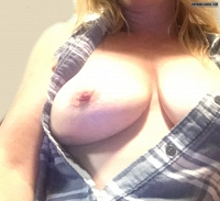 milf tits,wife boobs,braless,hard nipples,tits out,teasing,