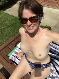 Topless Outdoors