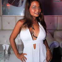 Discoslut,hard nipples,tits out,silkytanned