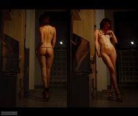 Ass, nude, Long legs