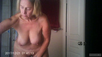 Tits Hanging