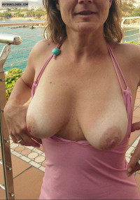 Great tits,nice nipples,hot wife,milf,tanlines,tit flash