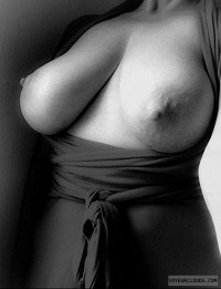 busty shadoe,big tits,open dress,black and white,milf,nipples,killer curves