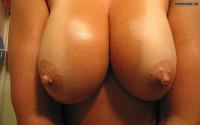 Oiled Boobies