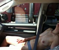 Nude In Car