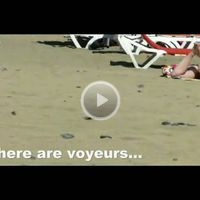 Beach Voyeur Video