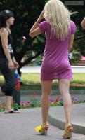 Backlit Skirt