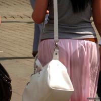 Seethrough Skirt