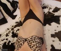 Leopard Print.....Small Boobs..Fit..Gmilf