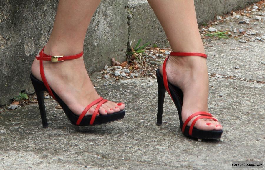 high heels voyeur, street voyeur, high heels, shoes