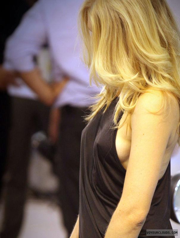 voyeur, braless, no bra, sideboob, nipple voyeur
