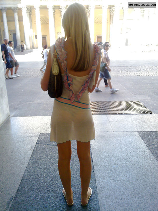 street voyeur, voyeur, see-through, sexy, candid woman