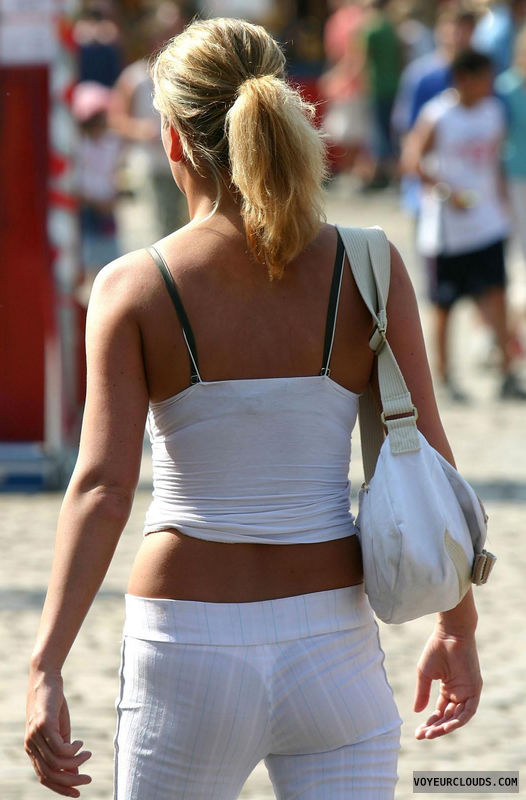 street voyeur, voyeur, thong, seethrough, candid, sexy ass