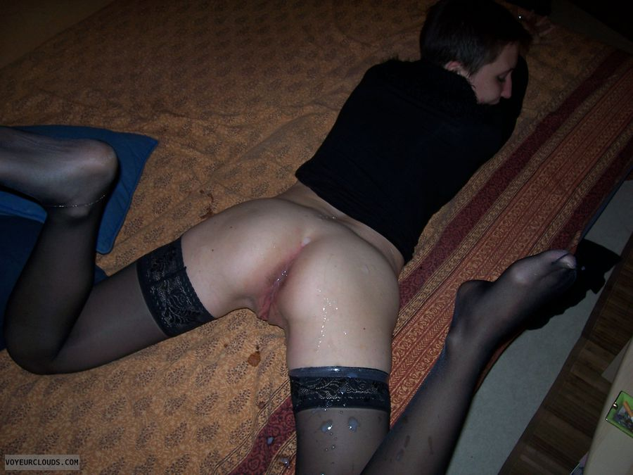 Cum On Stockings Video 104