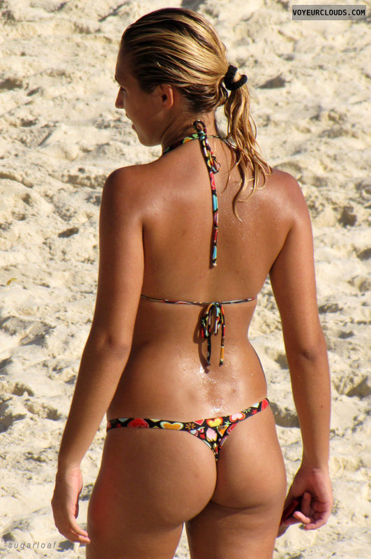 beach voyeur, bikini, sexy, candid woman, blonde, sexy ass