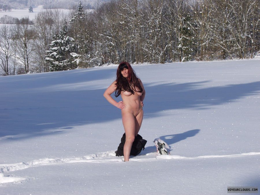 Blog nude in the snow