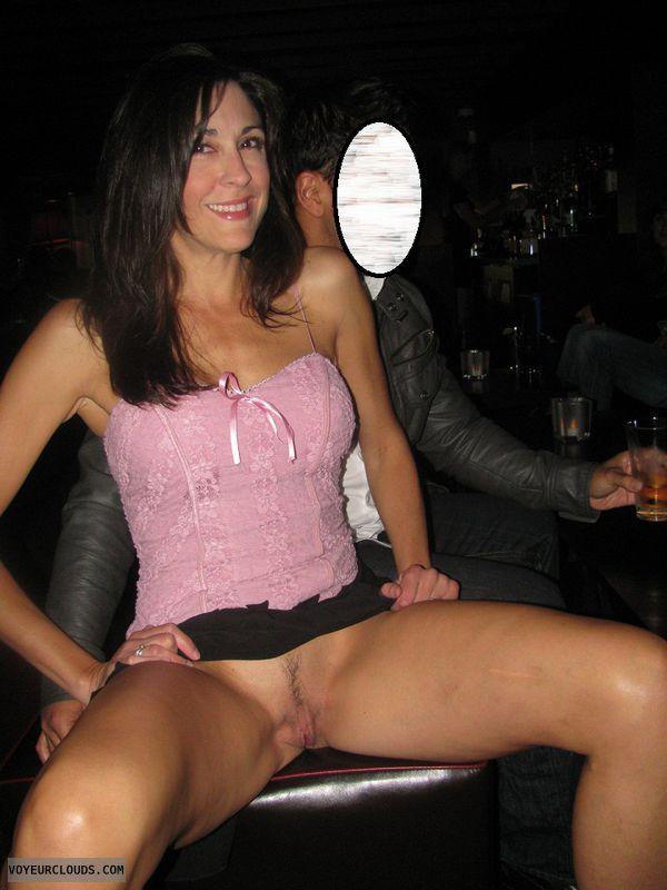 milf pussy flashing Wet
