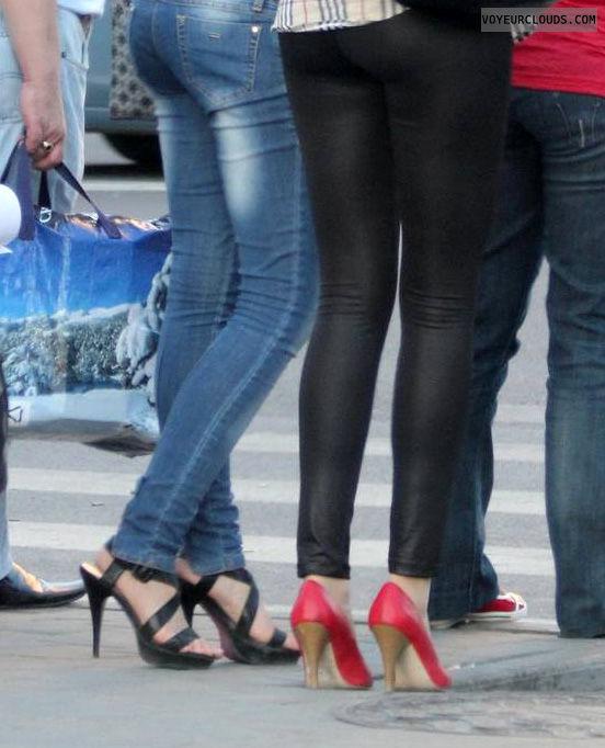 high heels voyeur, street voyeur, high heels, shoe voyeur