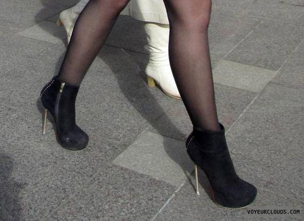 high heels voyeur, street voyeur, high heels, boots