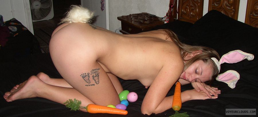 freebie, bunny, HoF, carrot, tail, ass, sleep