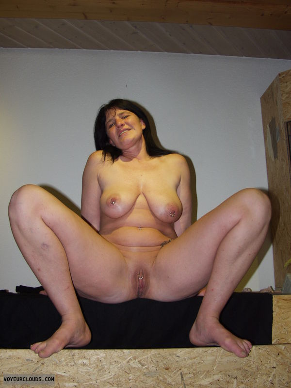 Pussy real showing wife