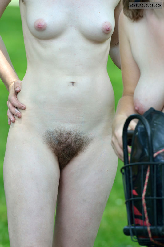 nudist, exhibitionist, wnbr, nude girl, hairy pussy