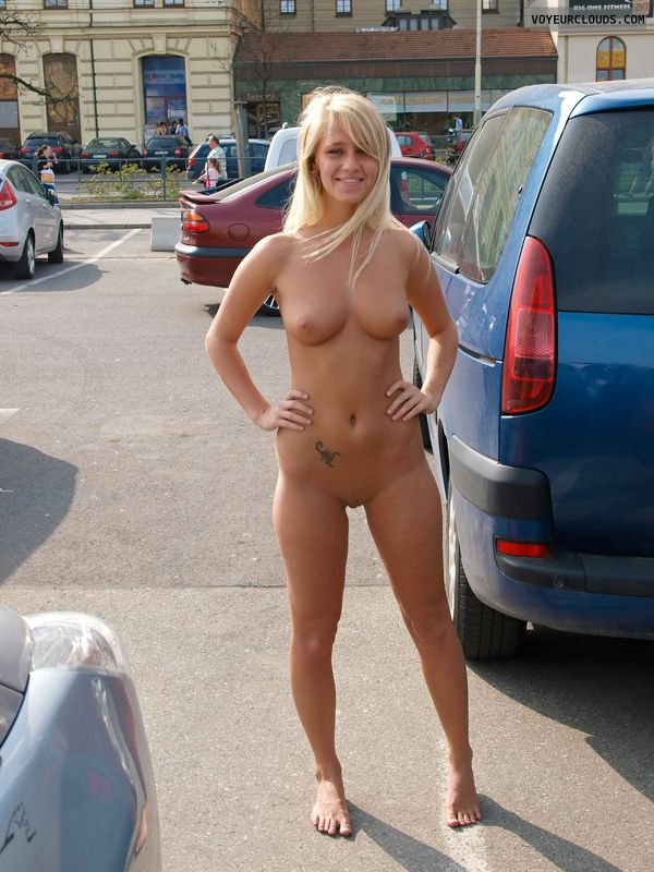 Not talkative Wman naked nude on the street pool