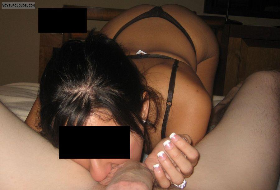 Liking balls oral sex