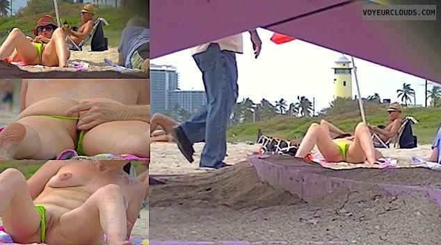 beach exhibitionist