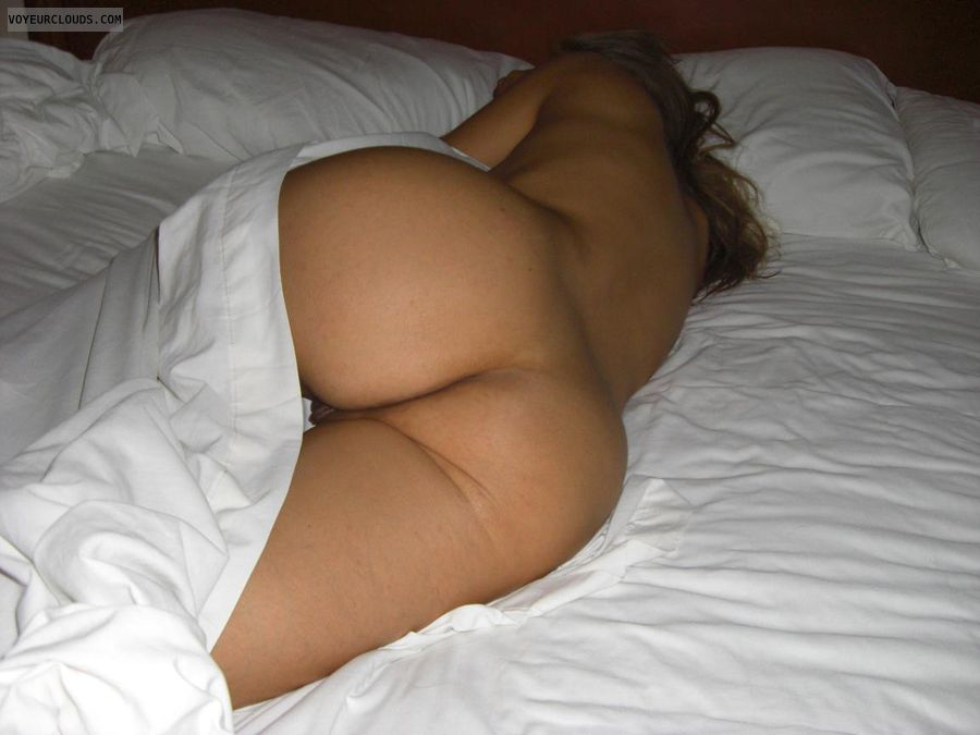 Blonde milf sleeping naked apologise