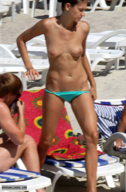 Voyeur young bikini