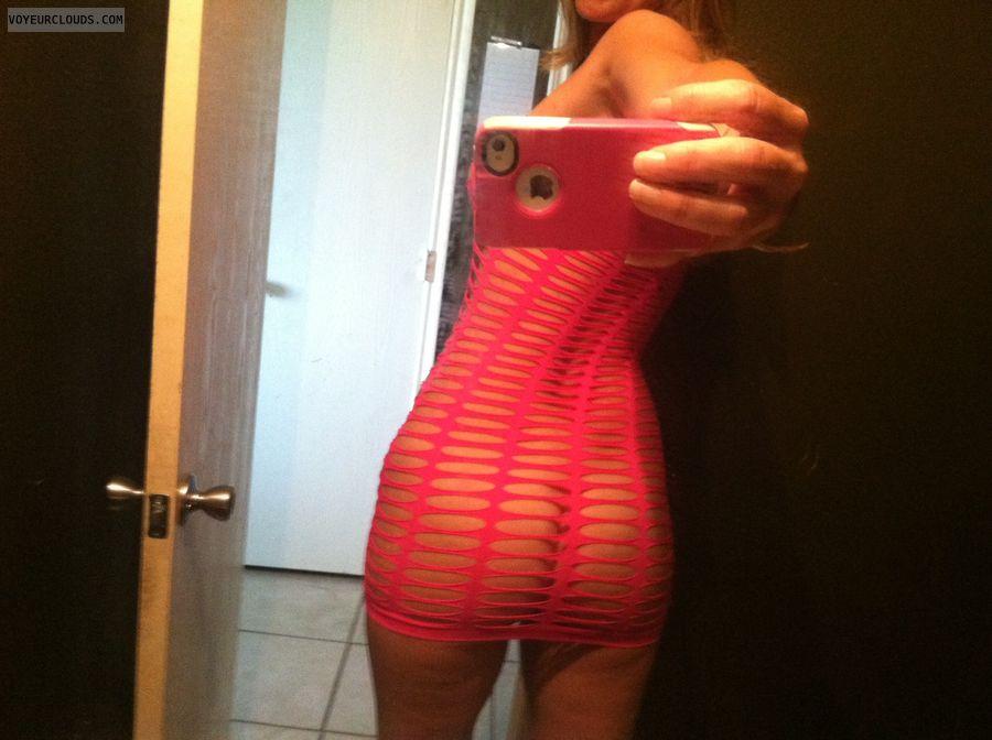 Milf dress selfie