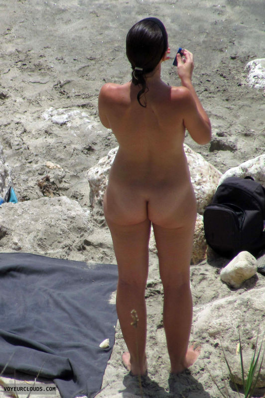 nude milf, milf ass, beach voyeur, nudist, nude beach