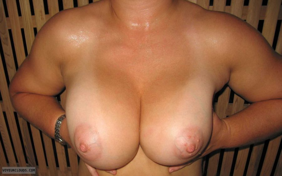 wife tits, sweaty boobies