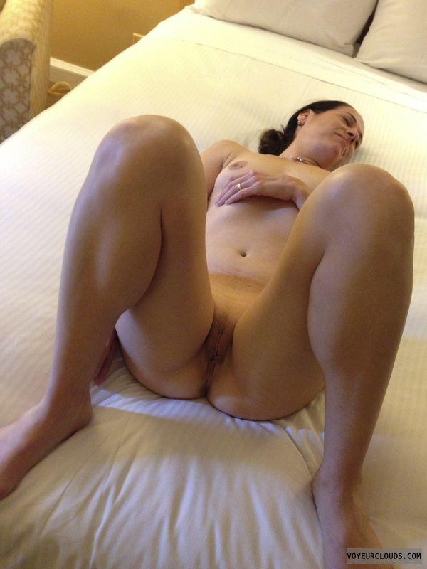 Female masturbation using water