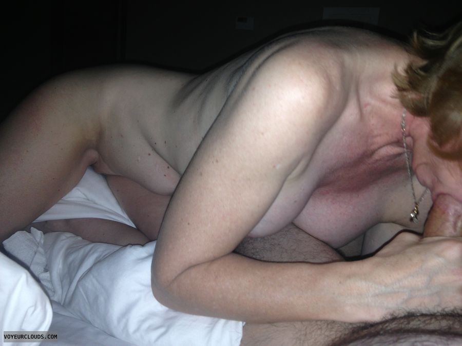 Nude wife sex & bj