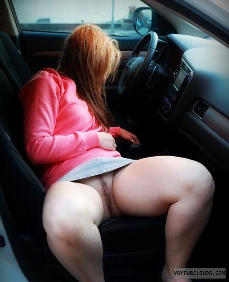 Amateur blonde pantie