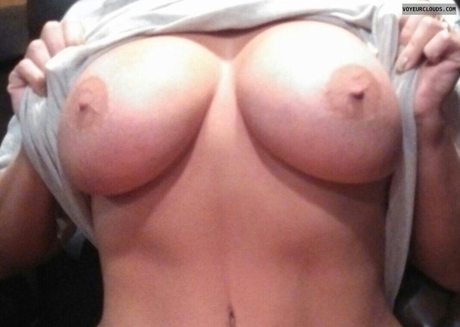 wife tits, wife nipples, big tits, hard nipples, areolas
