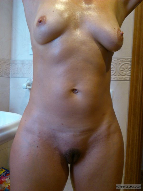 Wife in shower nude