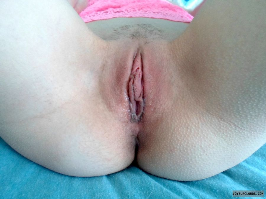 wife pussy, courtney, trimmed, spread, clit, wet, pink