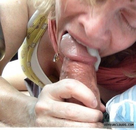 Wife wont swallow my cum after blowjob