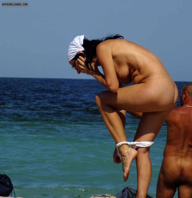 Latest nude beach voyeur