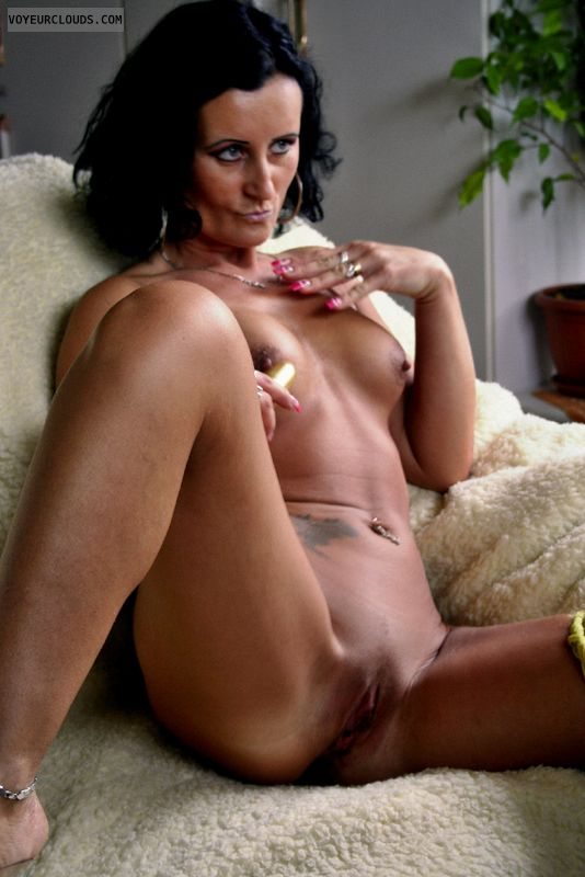 Haired tits black milf big