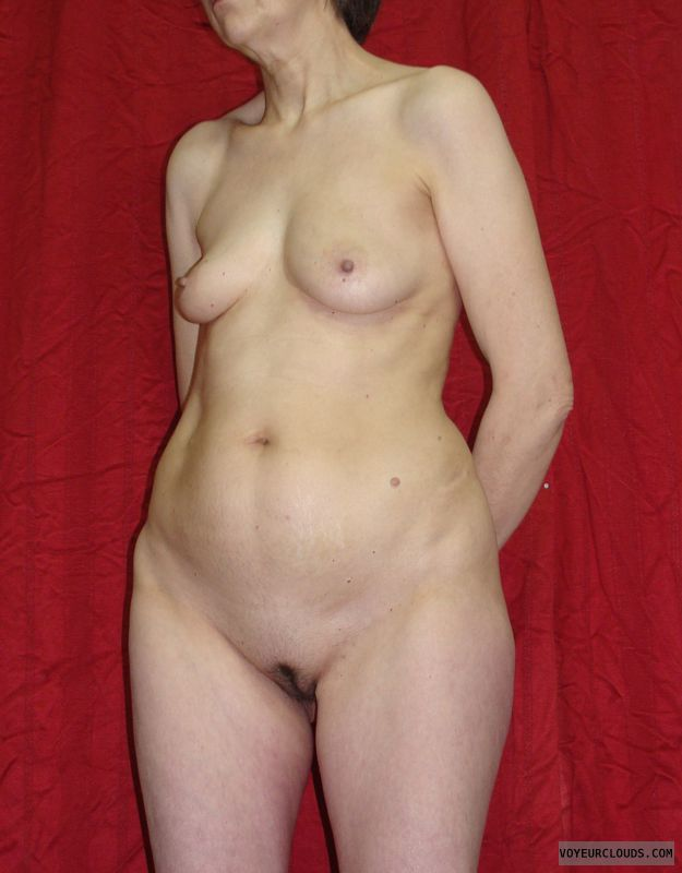 nude wife, wife tits, mature wife, sexy, standing